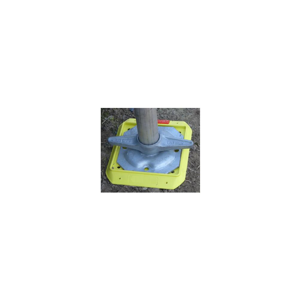 Unterlegplatte für Gerüstfuß GR1