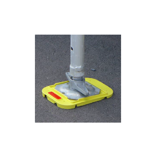 Scaffolding pads GR 2 - for uneven ground (5°)