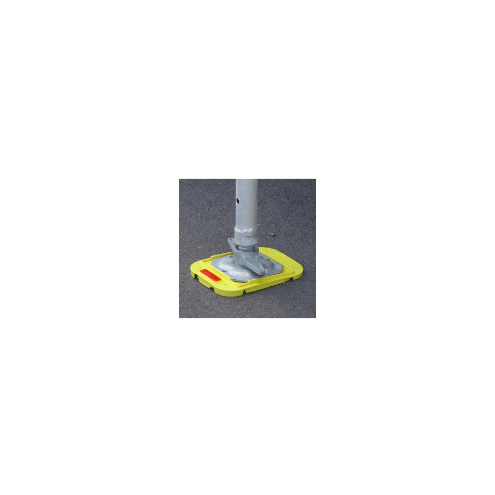Unterlegplatte für Gerüstfuß GR 2 – beim unebenem Boden (5°)