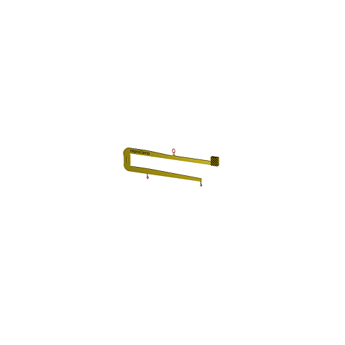 C-Haken für Containerbeladung DK-D