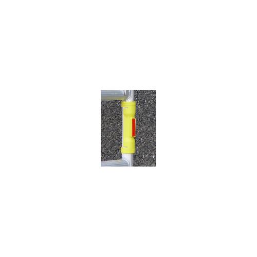 Unterlegplatte für Gerüste Ø 48mm GR6 - reflektierend