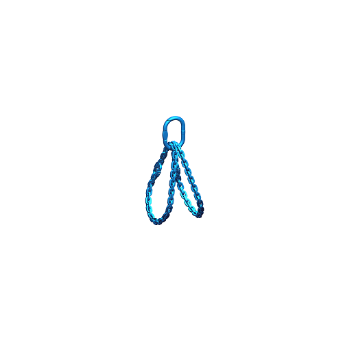 Chain sling 2 loops (Class 12) - rotary