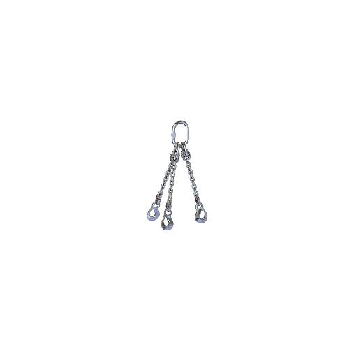Kettengehänge 3-Strang, rostfrei (GK 6)