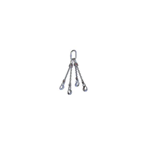 Chain sling 4-leg, stainless (Class 6)