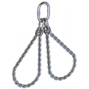 Chain sling 2 loop, stainless (Class 6)