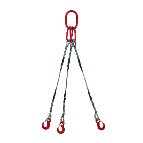 Wire rope sling 3-legs type S