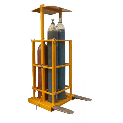 Forklift gas cylinder basket TWG